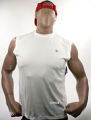 New Champion T2096 Men's Double Dry Training Muscle Shirt ALL SIZES COLORS