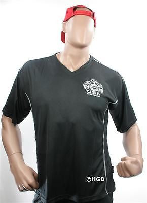NEW Mens Workout NPC Bodybuilding Wear V-Neck Dri-Fit Shirt Gym Clothing AllSize