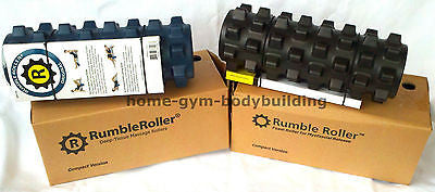 Rumble Roller Deep Massage Therapy Foam Roller 12