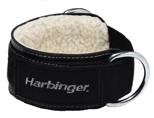 "Harbinger 3"" Heavy Duty Ankle Cuff Strap D Ring Cable Attachment Weight Lifting"