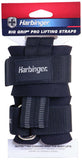 Harbinger Big Grip Pro Padded Weight Lifting Straps With No-Slip Duragrip Rubber