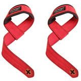 "Harbinger Weight Lifting Straps 21"" Neotek Padded Wrist Durahide Real Leather"