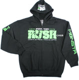 New Mens Workout MONSTA Bodybuilding Clothing Hoodie Hulk Out Zipper Sweatshirt