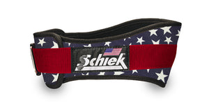 Schiek 2006 Nylon Stars n' Stripes Weight Lifting Belt Made In USA Bodybuilding