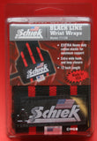 "Schiek Black Line 12"" Extra Heavy Duty Weight Lifting Wrist Wraps 1112B NEW PAIR"
