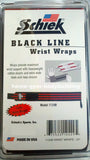 "NEW Schiek Black Line Two 24"" Extra Heavy Duty Weight Lifting Wrist Wraps 1124B"