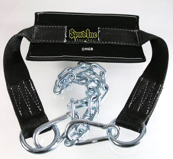NEW Spud Dip Belt with chain and 2 clips for weightlifting strength training