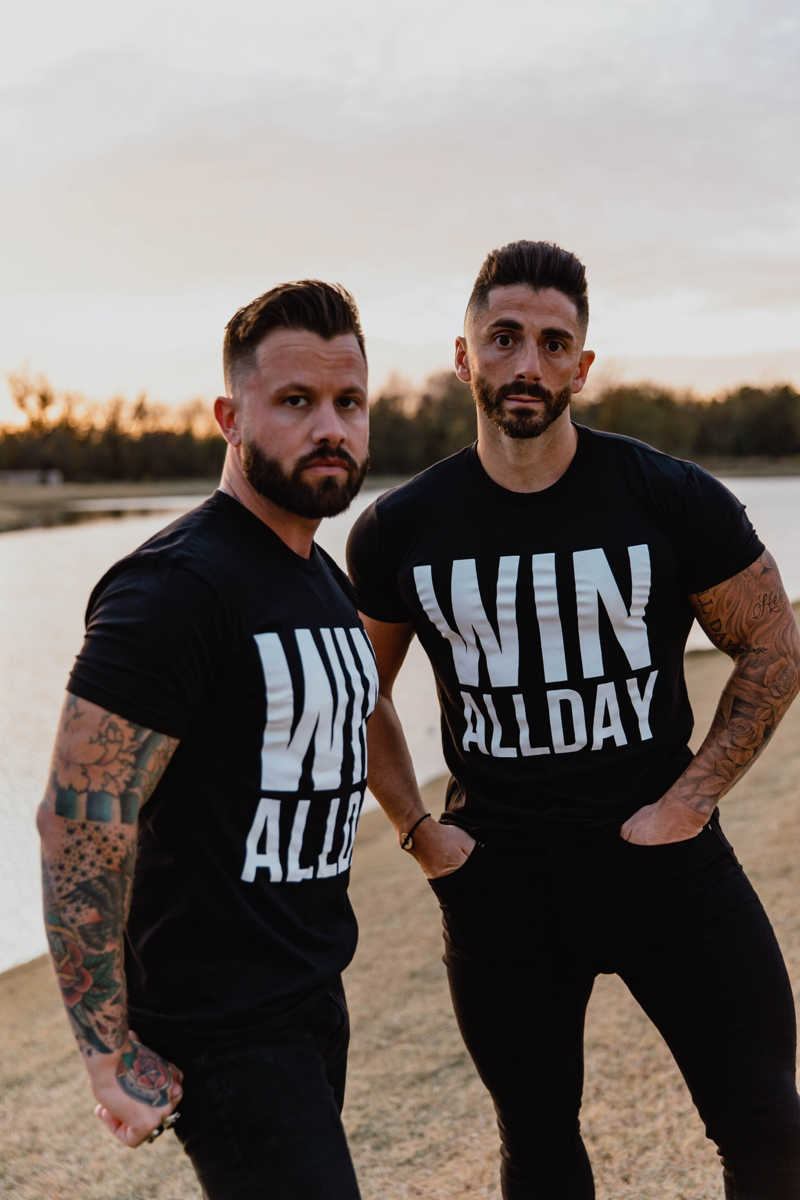 WIN ALL DAY - Unisex T-Shirt