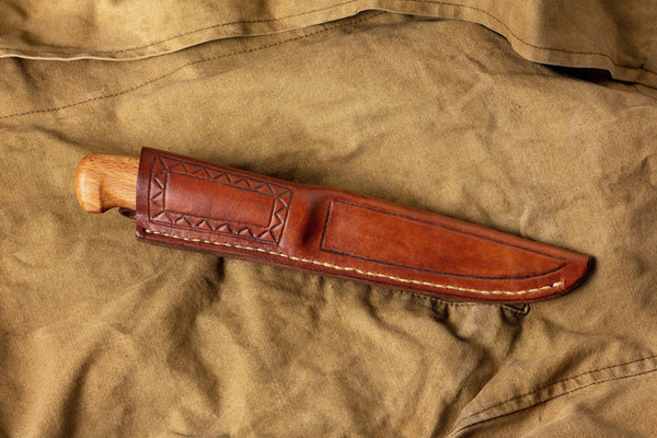 knife in a holster