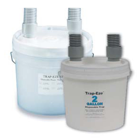 3 1/2 Gal. Trap-Eze SS Odor Control Trap Complete Kit