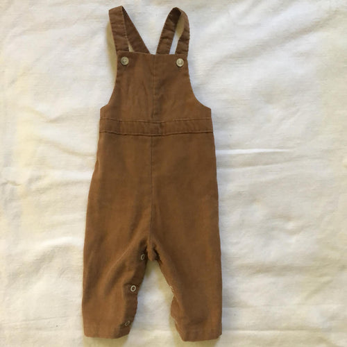 Vintage Camel Corduroy Overalls 9mo