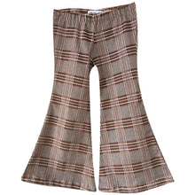Plaid Corduroy Bell Bottoms
