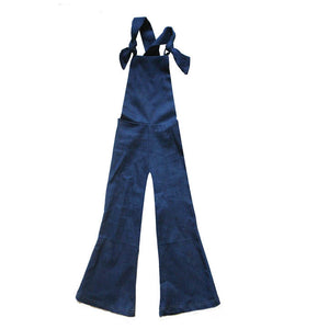 Women's Mavis Denim Bell Overalls