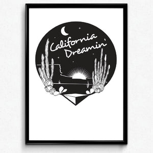California Dreamin Art Print