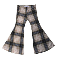Amber Plaid Bell Bottoms