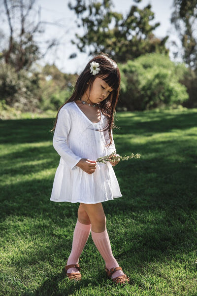 Moon Child White Gauze Dress