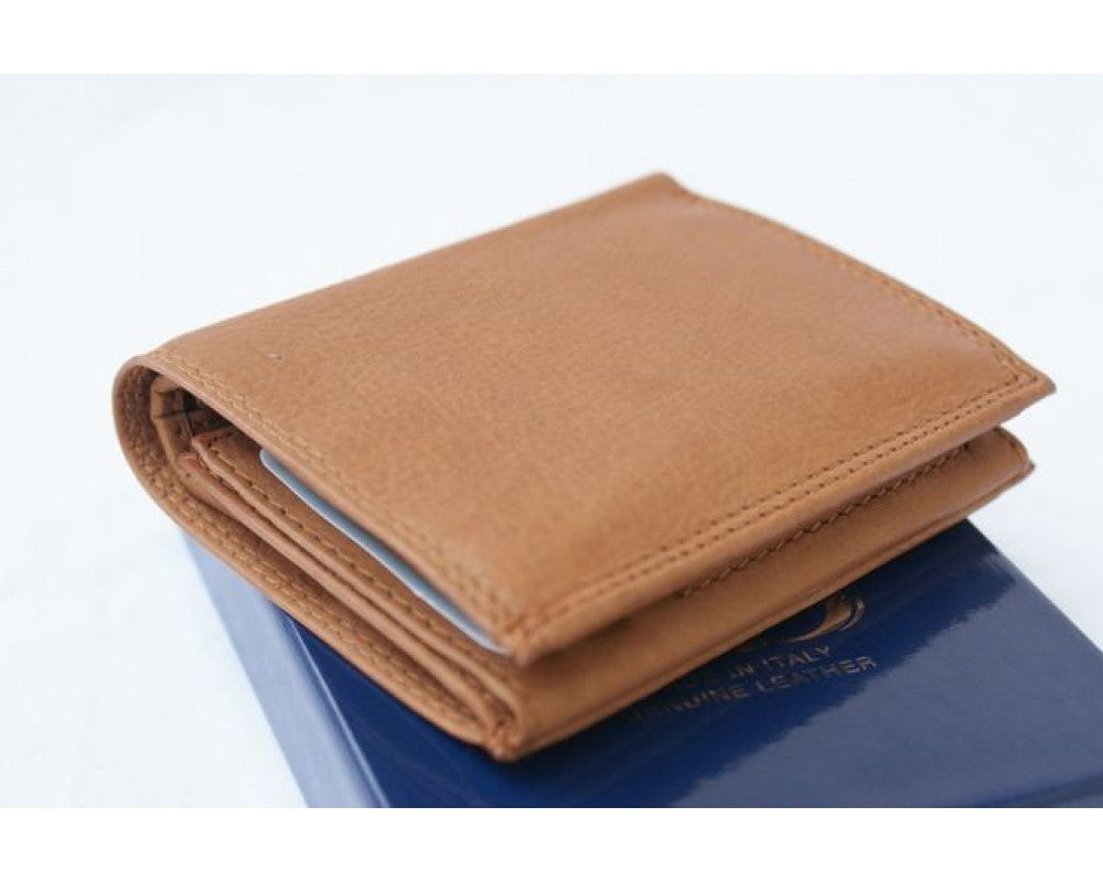 Italian leather wallet unisex - Leather
