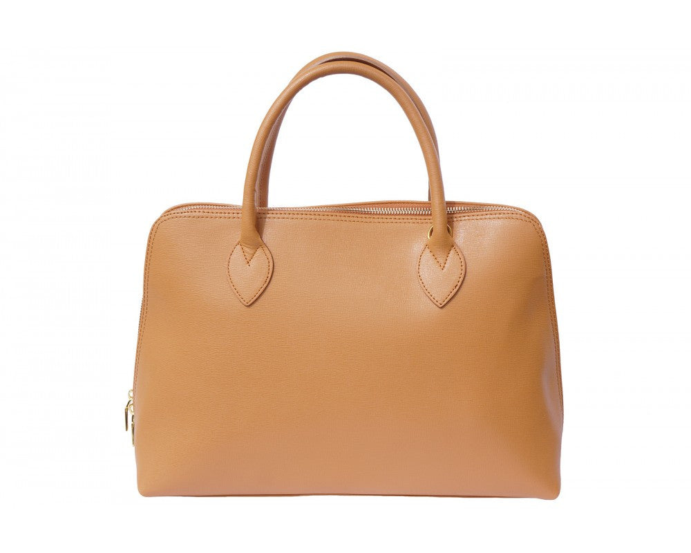 Italian Saffiano leather business bag for women - Leather