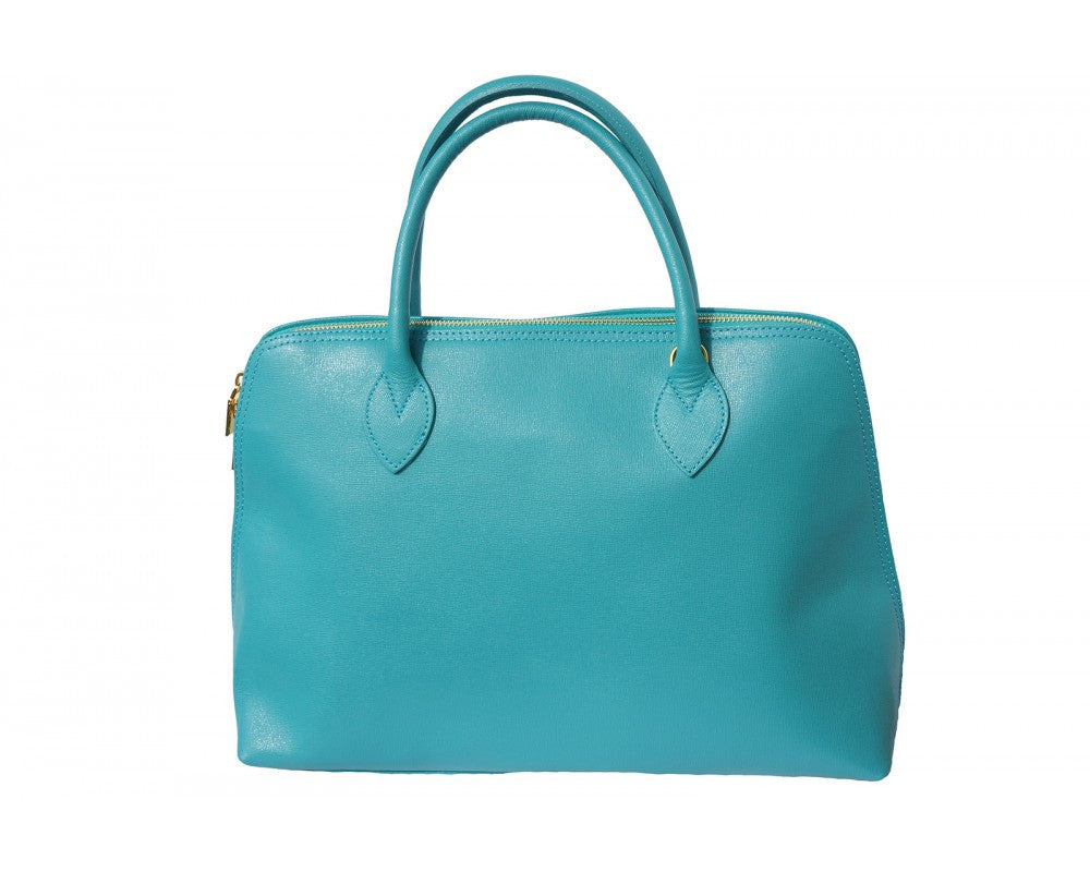 Italian Saffiano Leather Business Bag For Women...