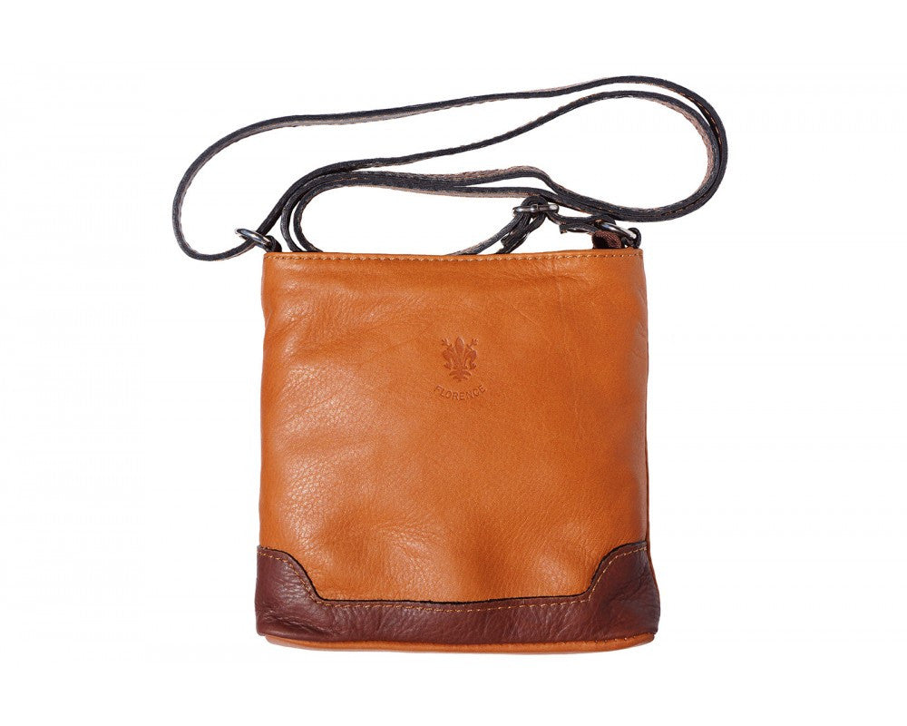 Italian Crossbody Bag for Women - Leather/Brown