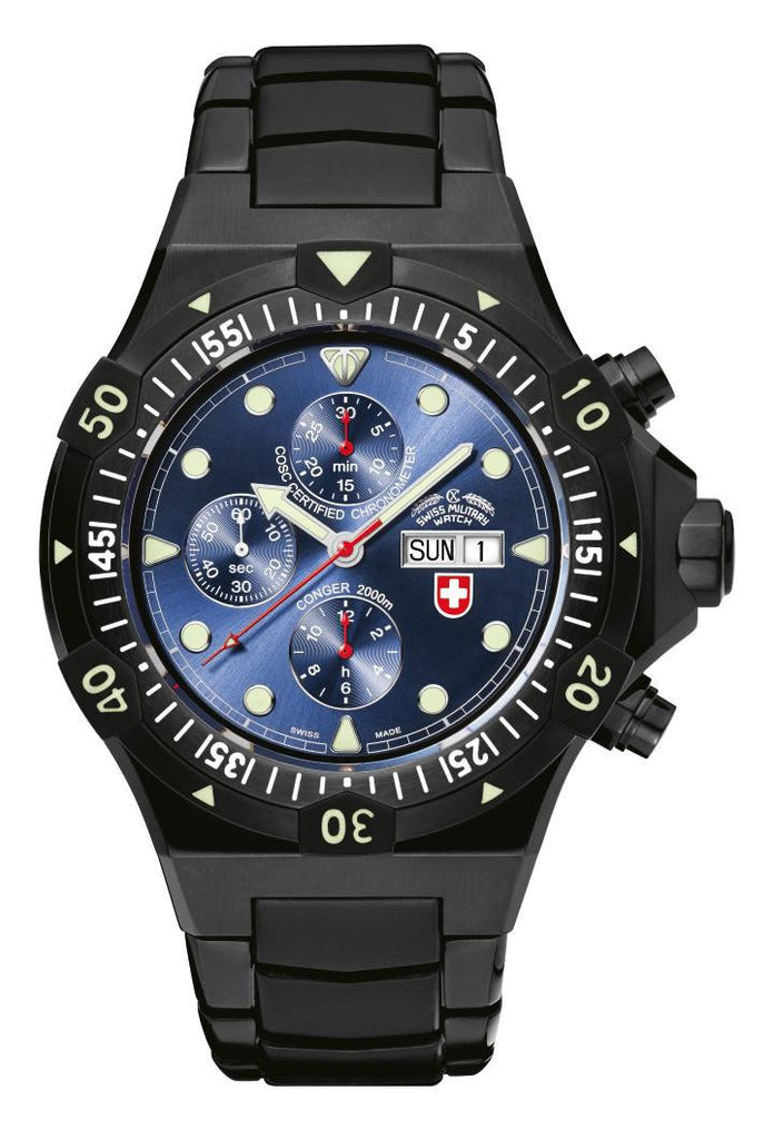 CX Swiss Military Conger Nero Auto