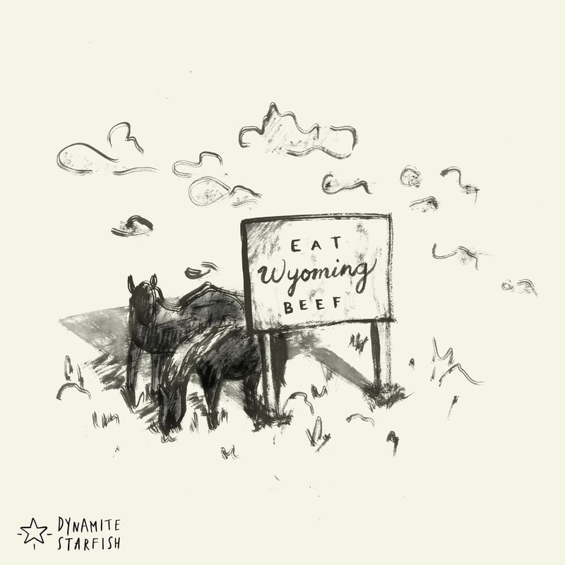 100 Drawings about Climbing -Two Horses in Sign-Shade