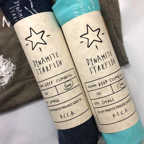 Dynamite Starfish Tanks ASCA Packaging
