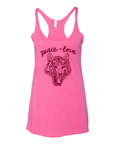 Peace, Love and Pussy Tank Top