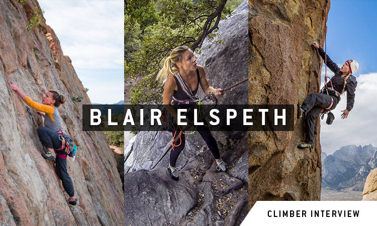 Blair Elspeth Dynamite Starfish Climber Interview. Photos by Benny Haddad.