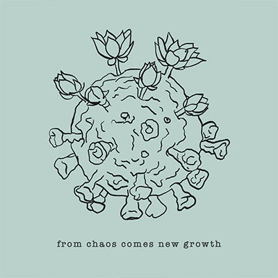 From Chaos comes new growth dynamite starfish leslie sam kim uplifting positive art