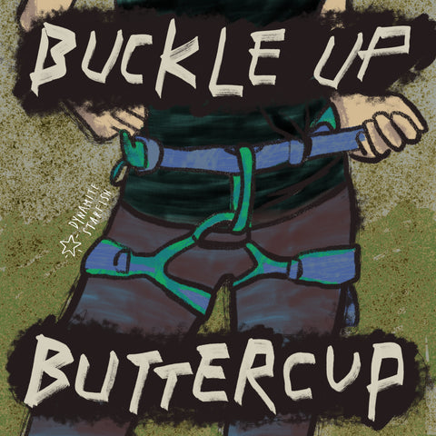 Dynamite Starfish 100 Drawings About Climbing Buckle Up Buttercup