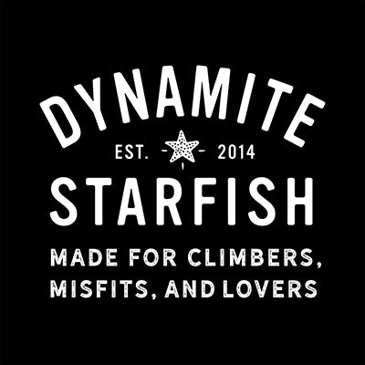 dynamite starfish for climbers misfits and lovers logo
