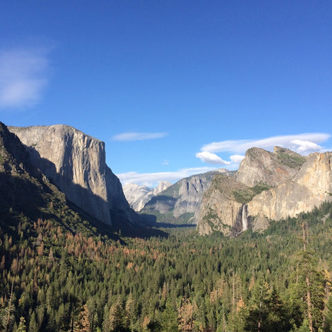 Yosemite Valley pullout