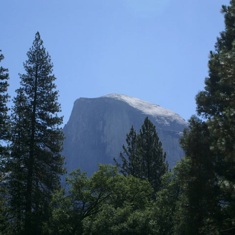 Half Dome view from Upper Pines