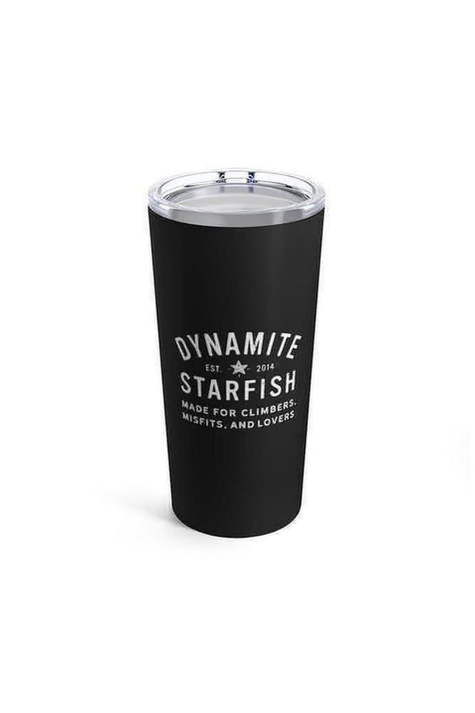 Dynamite Starfish for Climbers, Misfits, and Lovers — Tumbler 20oz Black - Dynamite Starfish