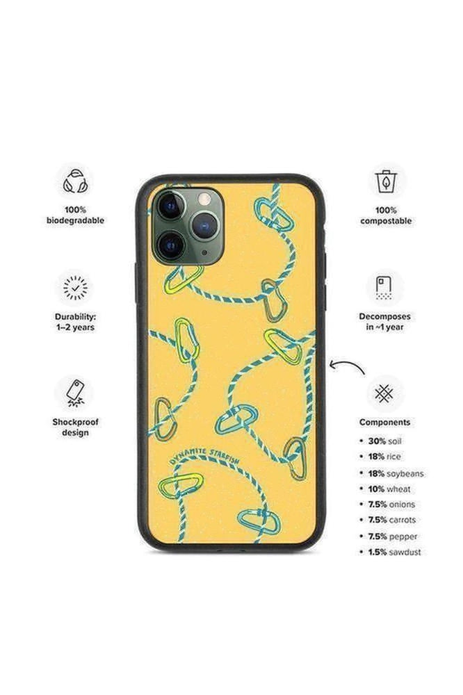 Rope & Carabiners — Biodegradable iPhone case - Dynamite Starfish