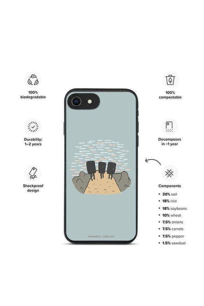 Sunset Boulderers — Biodegradable iPhone case - Dynamite Starfish