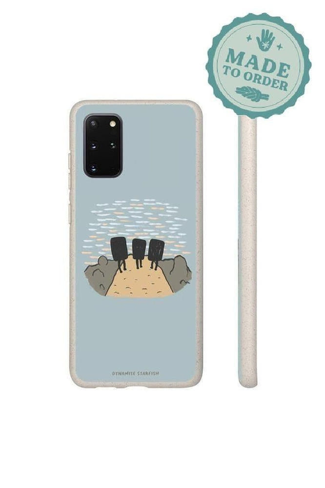 Sunset Boulderers — Biodegradable Samsung S20 case - Dynamite Starfish