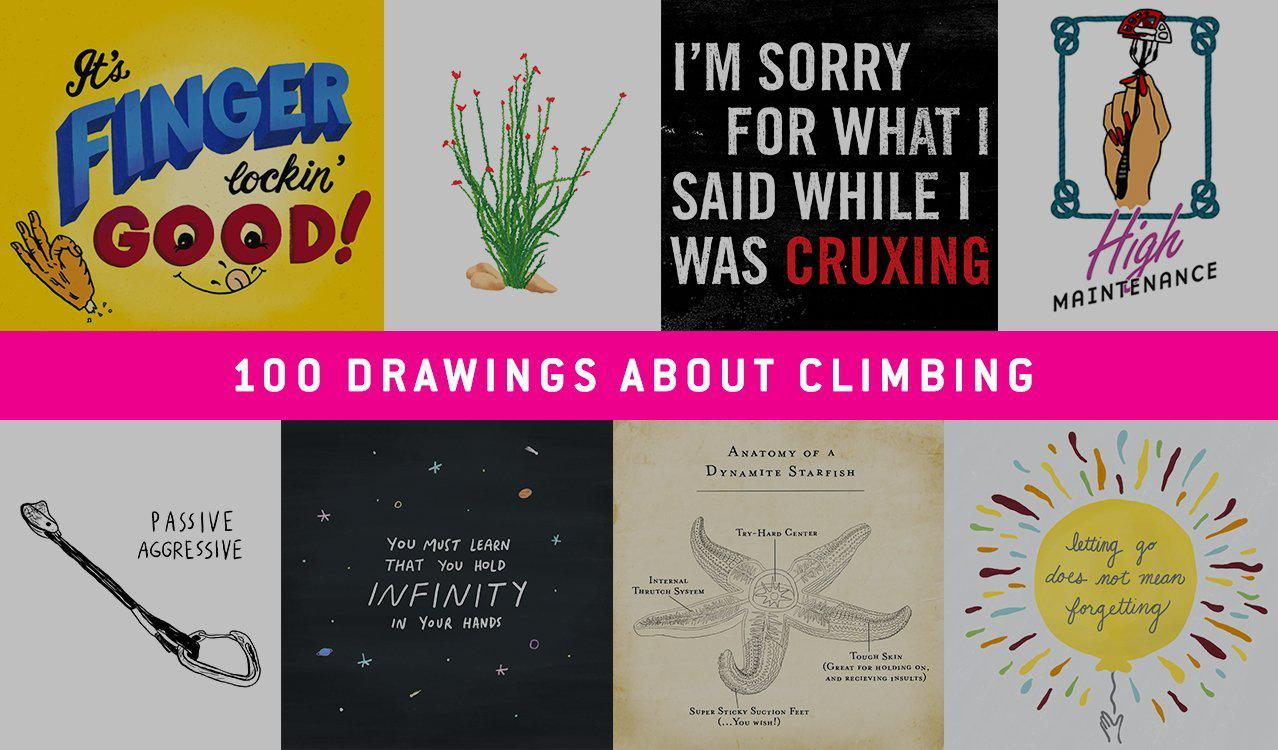 Dynamite Starfish 100 Drawings about Climbing Instagram