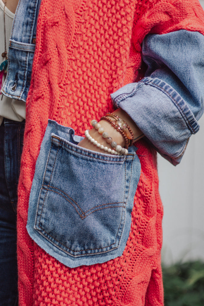 Denim Project: Coral Knit - Lightwash