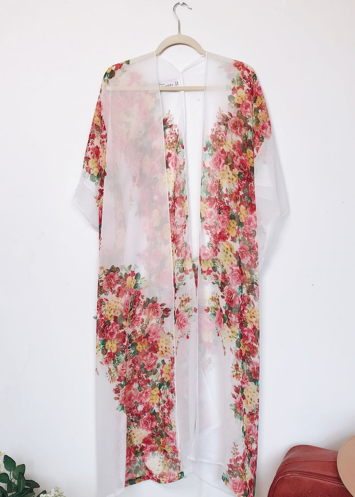 Duster: Smell the Roses Kimono - C A L I