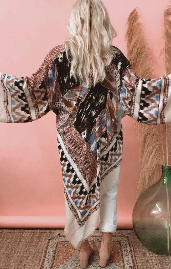 Loved Textile Knit Jacket - Aztec // MED