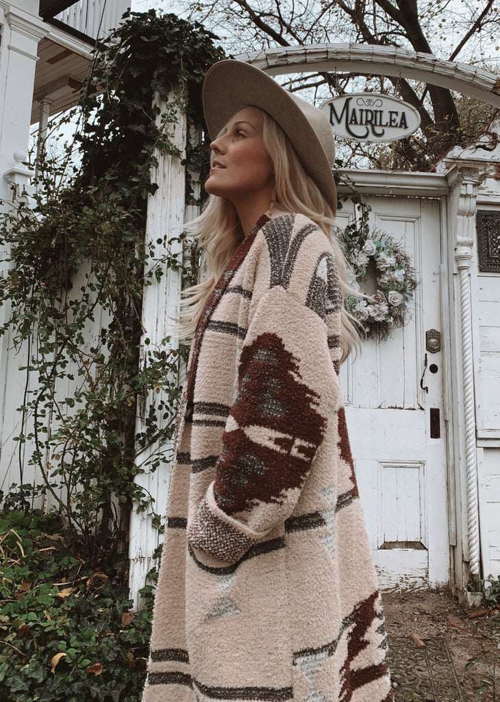Elleflower- Cozy Country Coat // CLASSIC CREAM