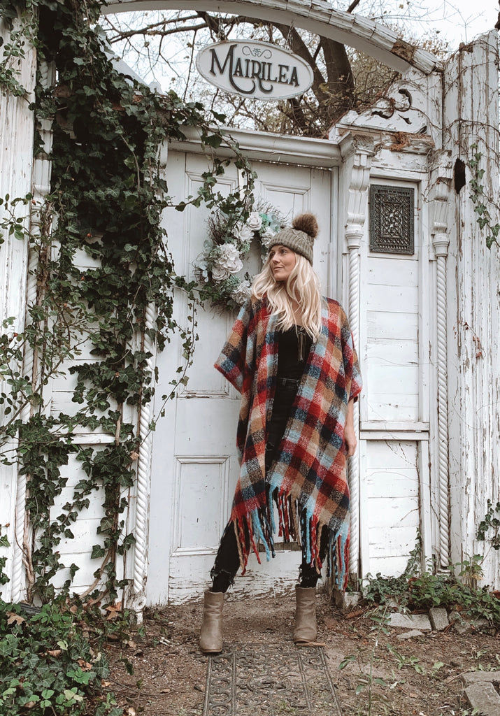Keep Me Cozy Collection: Cabin Fever  // CHALET PLAID
