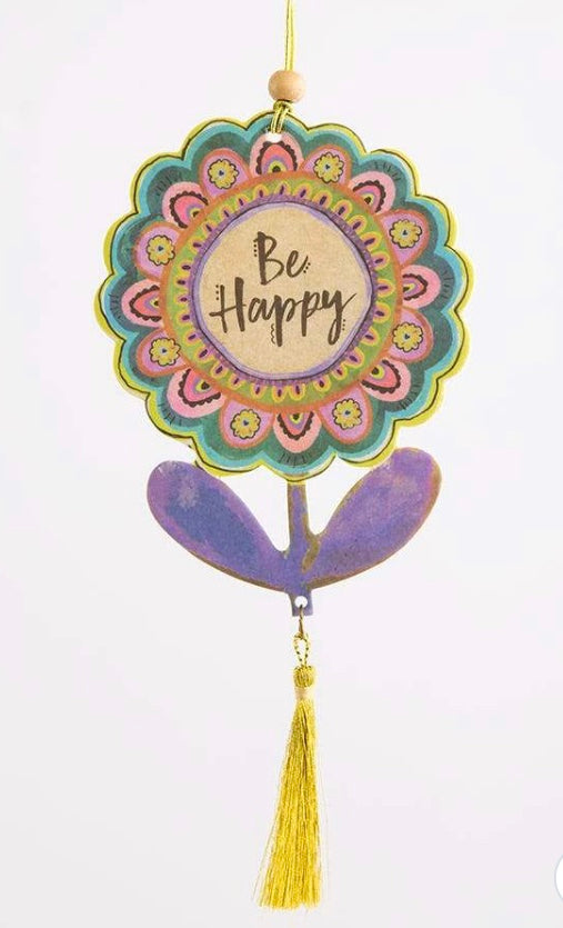 Elleflower Car Air freshener // HAPPY