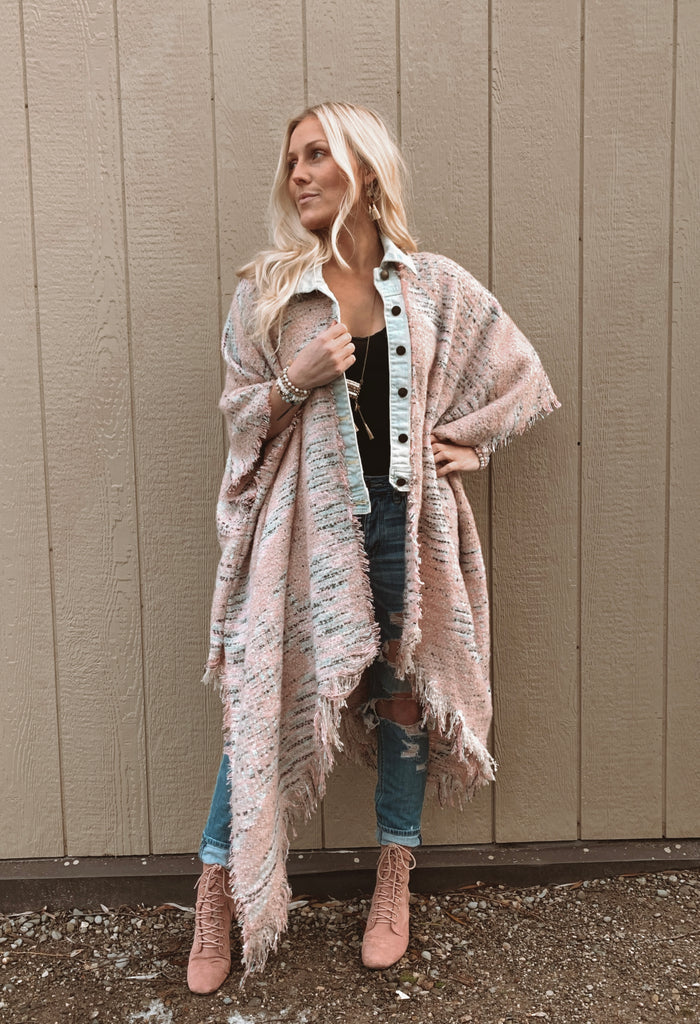 Denim Project: HOLIDAY // Marbled Blush B