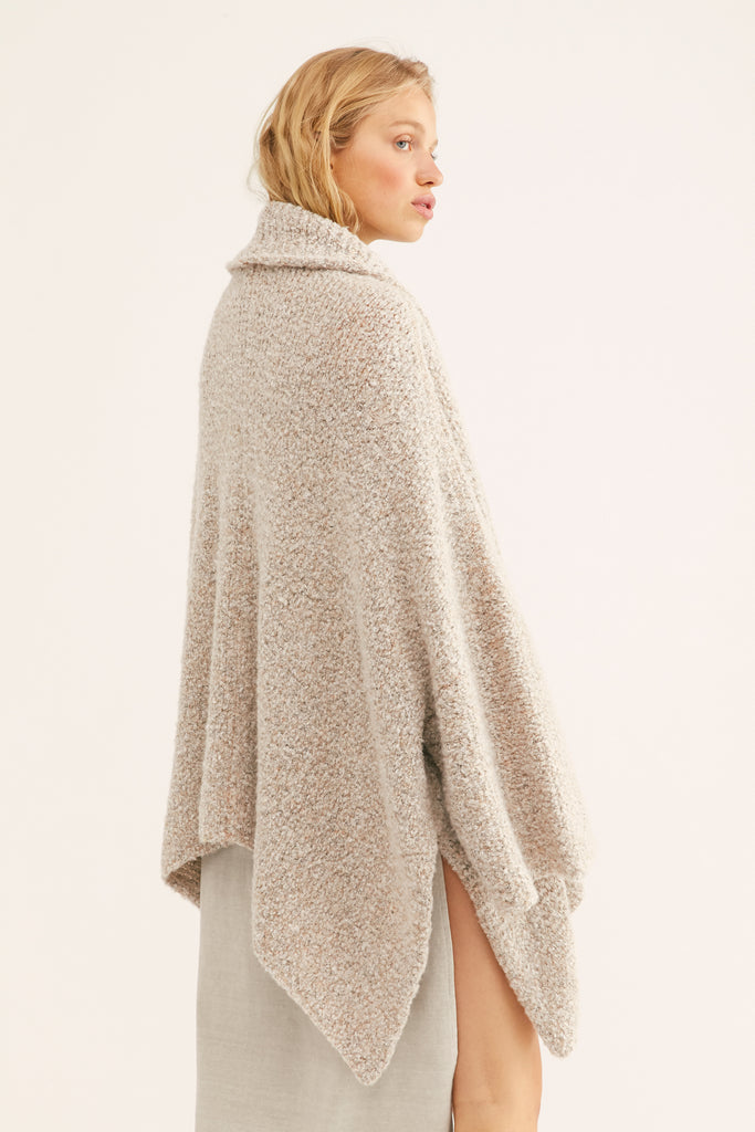 Free People BFF Cardigan - OATMEAL