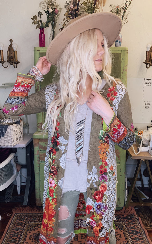 Loved Textile jacket - L E M O N G R A S S // SMALL