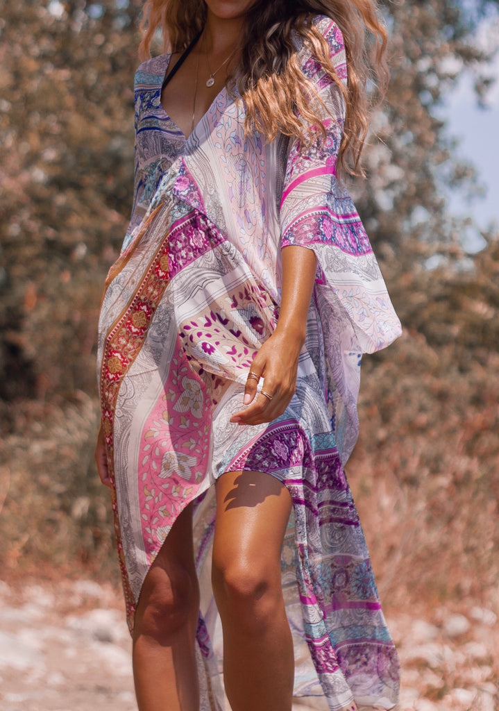 Beach Bliss Kaftan - PRESLEY PLUM