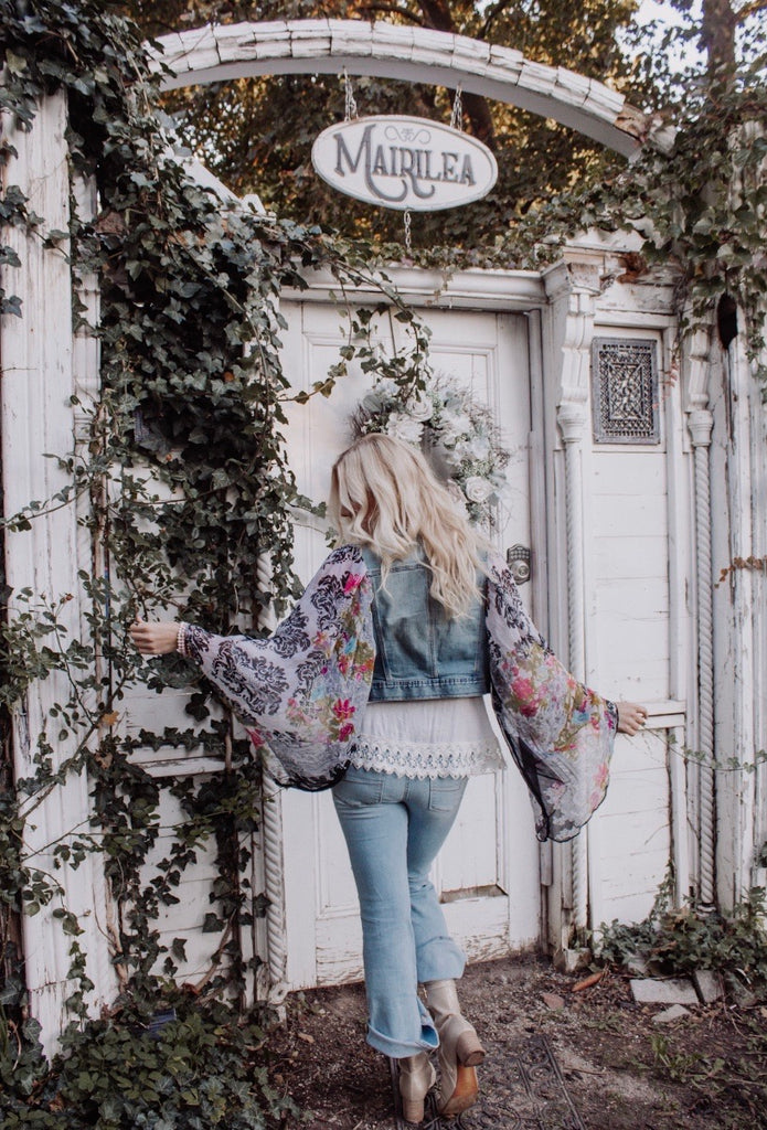 Denim Project: ARTFUL AUTUMN // Baroque SMALL
